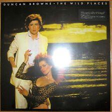 "12"" 180g Vinyl LP NEU+OVP Ducan Browne The Wild Places Music on Metro Prog Rock"