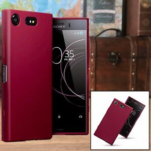 Sony-Xperia-XZ1-Urban-Case-Impact-Displacement-Composite-TPU-RED