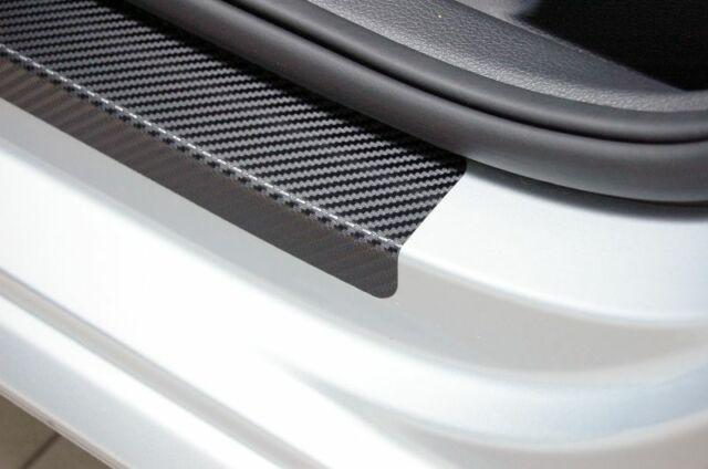 Einstiegsleisten für OPEL CORSA D 3Tuerer Carbon Silber 3D 160µm