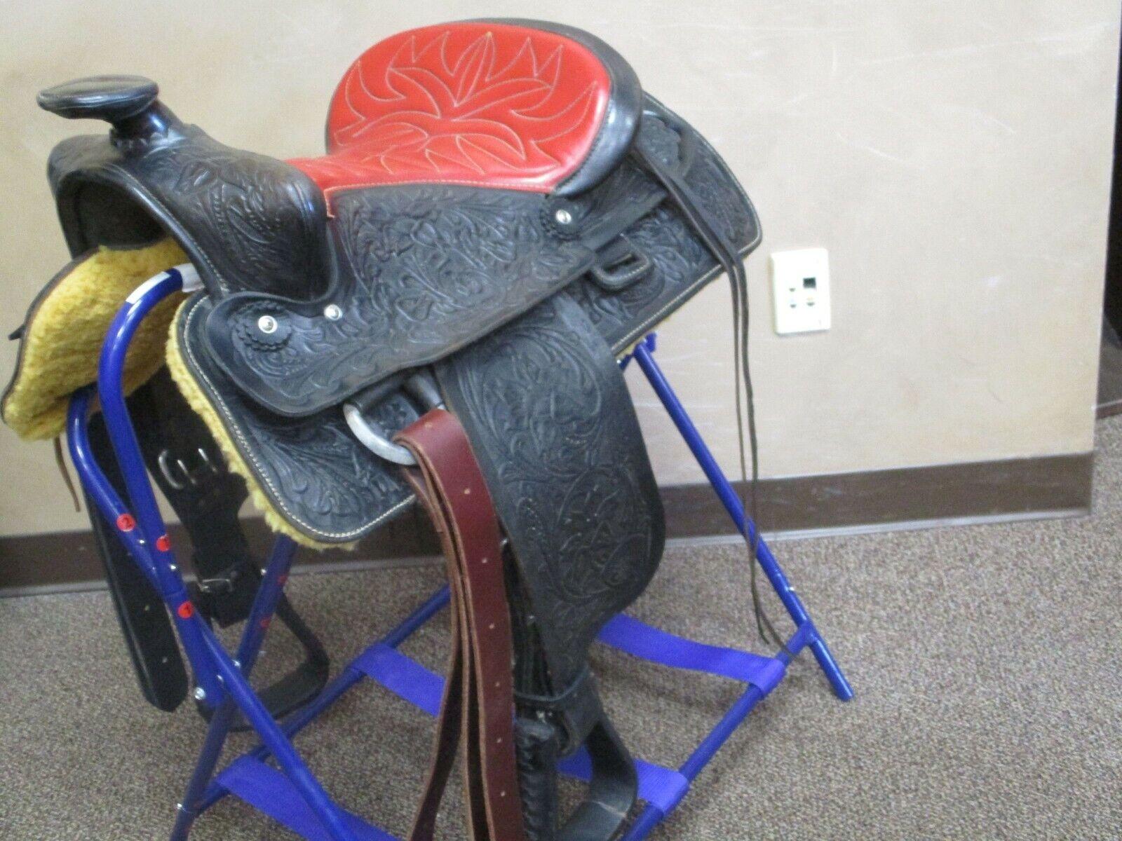 Silla de montar de vaquero Big Horn occidental 15  Usado