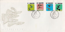 SINGAPORE :1974 Tropical Fish set SG 229-32 on illustrated First Day Cover