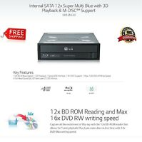 LG Electronics UH12NS30 SATA Internal 5.25 in Blu-ray Combo Drive M-Disc Support