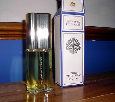 Ladies Fragrance White Linen by ESTEE LAUDER Parfum Spray 60ml (used)