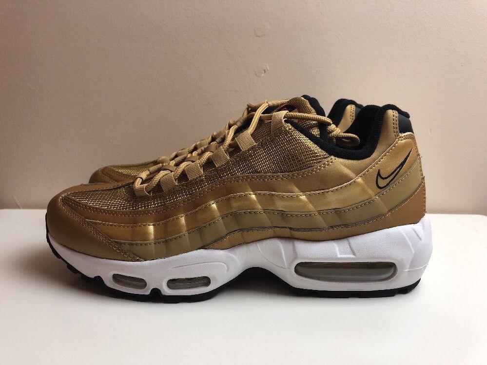 Nike Air Max 95 Premium Premium Premium QS Gold Bullet UK 7 EUR 41 918359 700 18e548