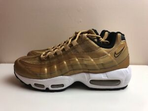 Nike Air Max 95 Premium QS Gold Bullet UK 7.5 EUR 42 918359 700  269caf780