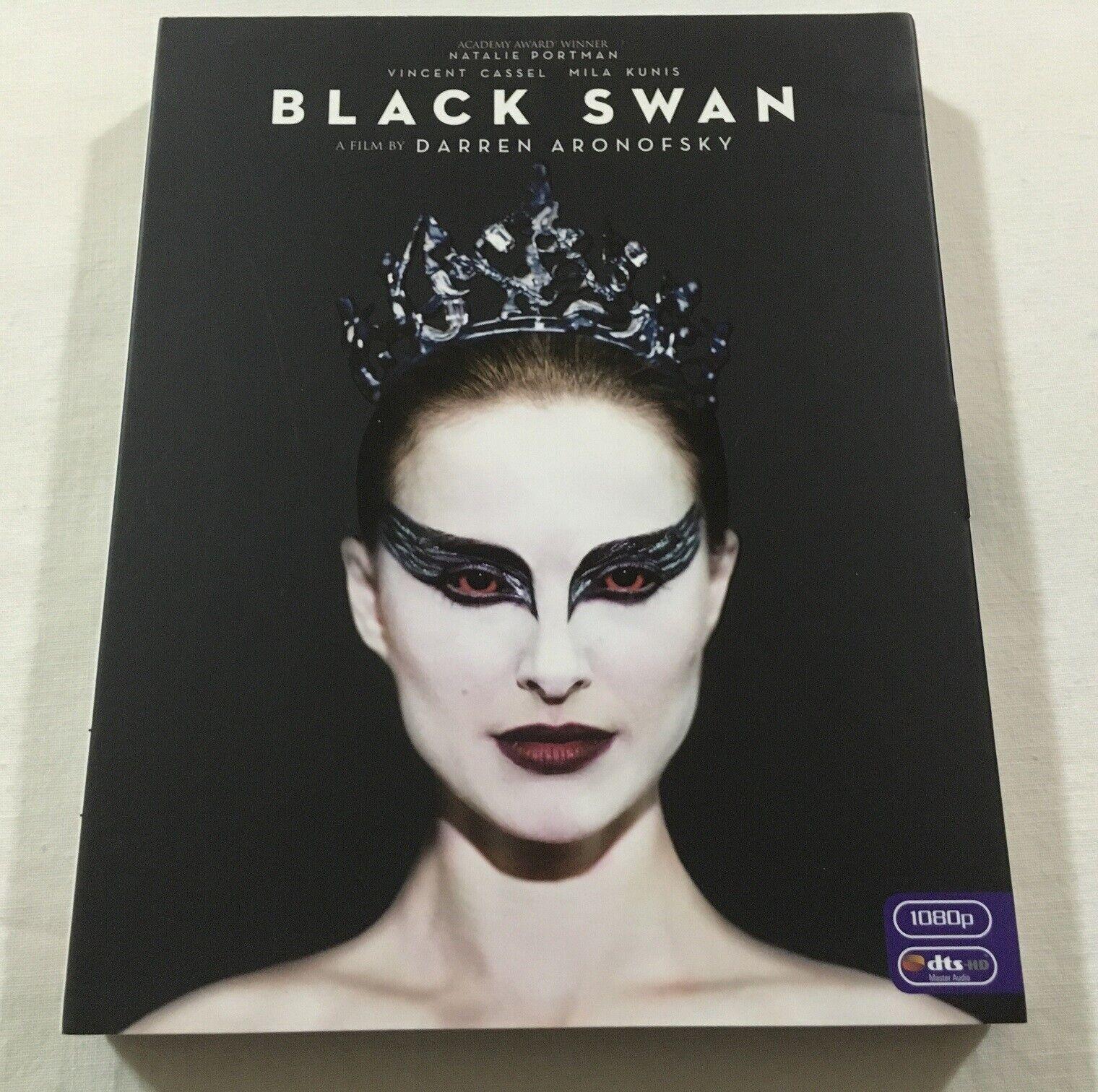 Black Swan 2010 Jb Hi Fi Exclusive Slipcover Blu Ray Dvd Region B 4 Vgc For Sale Online