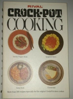 RIVAL [model 3350 & 3150] The Original Crock-Pot Slow ... |Vintage Recipe Book Crock Pot