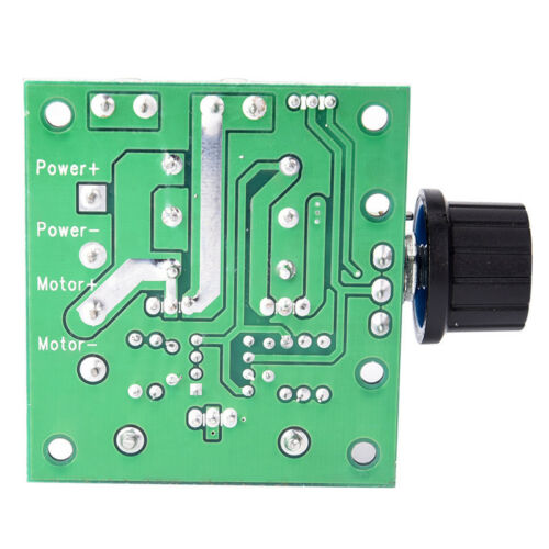 12V~40V 10A PWM DC Motor Speed Control Switch Controller Volt Regulator DimmerHV