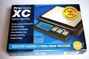 ProScale-xc501-Balanza-Digital-500-x-0-01g-Precision-Aage-munzwaage-taschenwage