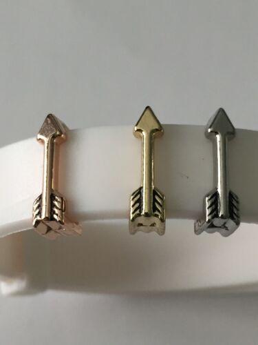 Arrow 10mm Slide Keep Bracelet Charms