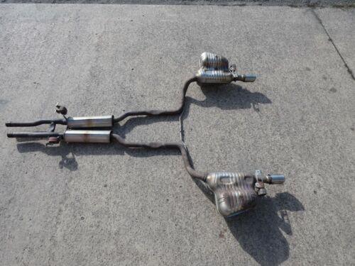 Audi A6 4F 3.2 4.2 FSI Auspuff Abgasanlage Endschalldämpfer Endrohre 4F0253612S