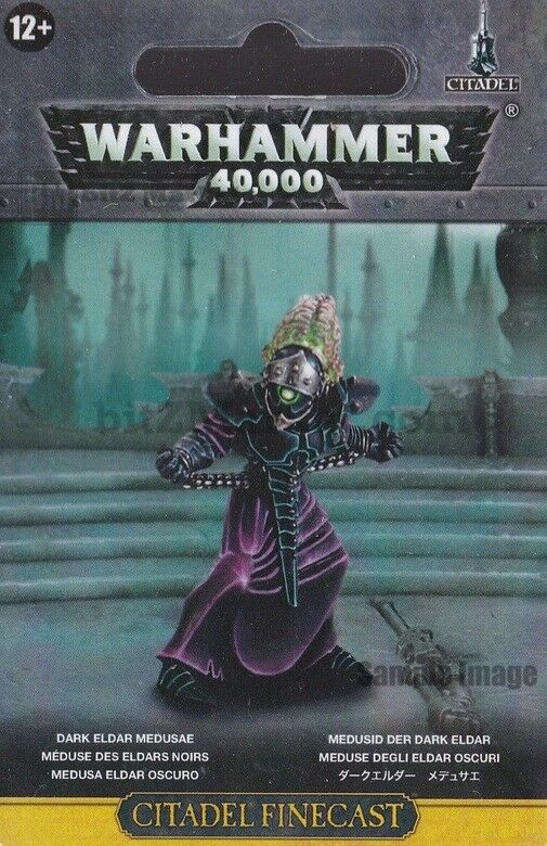 Games Workshop Warhammer 40K Medusae Dark Eldar Drukhari Finecast New NIB WH40K