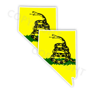 Cl Las Vegas >> Details About Dont Tread On Me Nevada State Shape Decal Las Vegas Stickers Various Sizes Cl