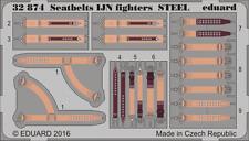 Eduard PE 32874 1/32 cinture IJN combattenti in acciaio