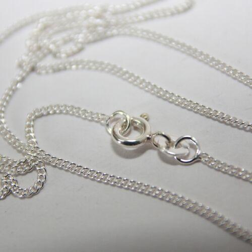 Silberkette Halskette Silber 925 Kette feine Gliederkette 40 cm  1mm