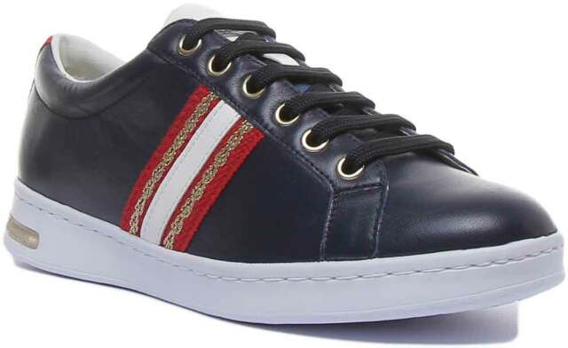Geox D Snake X D3212x Low Rise Trainers