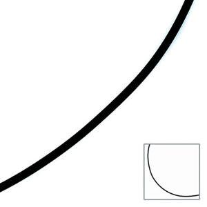 Halskette-Kautschuk-schwarz-mit-333-Gelbgold-2-mm-45-cm-Kautschukkette