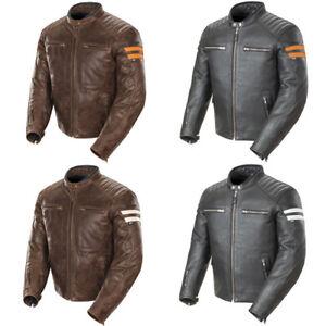 Details About 2018 Joe Rocket Classic 92 Mens Leather Motorcycle Jacket Pick Size Color