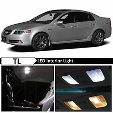 15x White LED Interior Lights Package Kit Fit 2004-2006 2007 2008 Acura TL #US