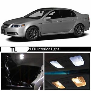 15x white interior license plate led lights package kit - 2004 acura tl led interior lights ...