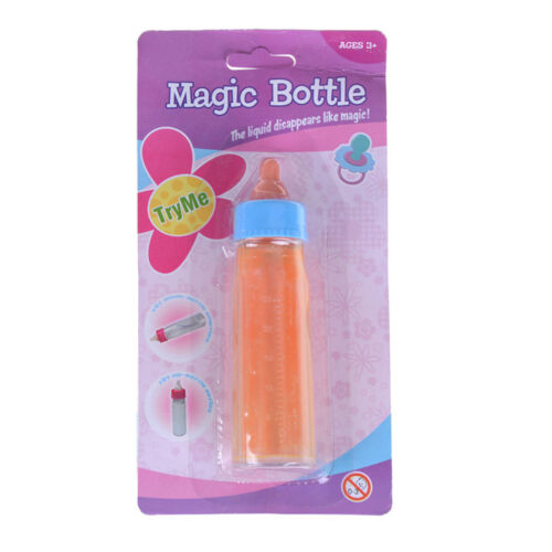 Doll Accessories Milk Juice Bottles Vary Magic Toys Kids Pretend Play Toys BS