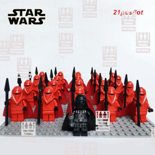 custom Printed lego minifigure 21PCS-LOT-STAR-WARS-Imperial-Wolfpack-Trooper
