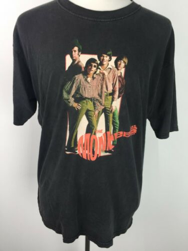 VTG The Monkees 60s Rock Mod Psychedelic Concert T