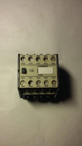 Spule 220V 50Hz Hilfsschütz 10 A mit 7S 3Ö 10-pol 73E Siemens 3TH8373-0A