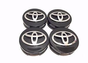 4 pcs, Toyota, 62MM, Black, #42603-12730, Camry, Corolla ...