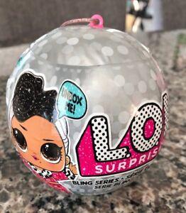 LOL Surprise Doll Bling Series 1 PRANKSTA Holiday Glitter Ball~NEW Sealed L.O.L.