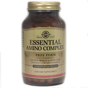 Solgar Essential Amino Acid Complex Vegetable Capsules  - 90 Count