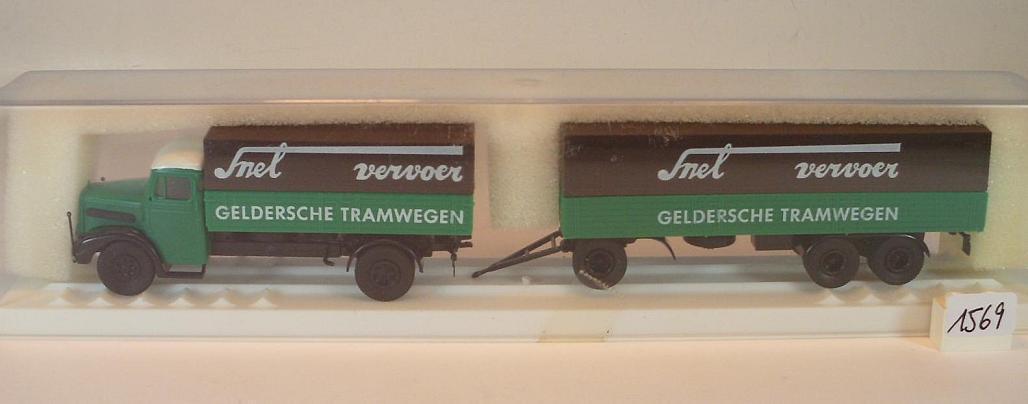 Brekina 1   87 mann h ä ngerzug geldersche tramwegen snel) holland ovp   1569