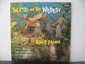 LOUIS-PRIMA-The-Call-of-the-Wildest-CAPITOL-REISSUE-VINYL-LP-Free-UK-Post