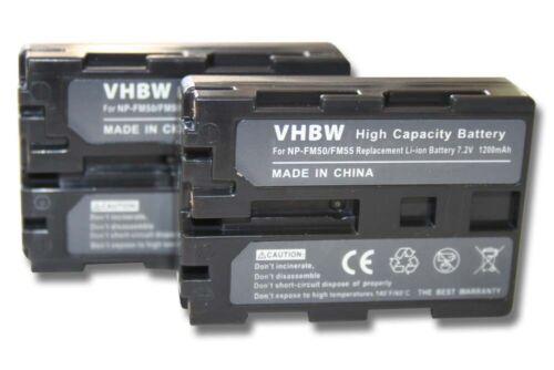 2x Batería 600mAh Para SONY DCR-HC44 HC44E DCR-HC46 HC46E DCR-HC65