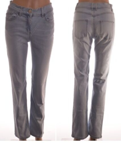 A99 // 108 EX M/&S Luce Denim Elastico Slim Straight jeans taglia 8 10 12 14 16 18