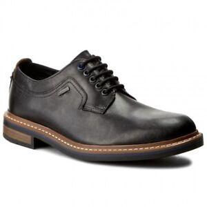 595a6130816fba Clarks Men    Darby Walk GTX    Black or Chestnut Lea    Active air ...