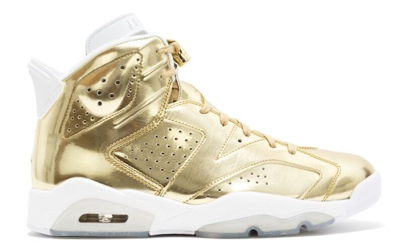 Air Jordan 6 Retro Pinnacle Metallic gold Size 7.5 8.5 9 10 11 854271 730