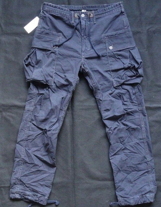 Ralph Lauren RRL DOUBLE RL Cargo Pant NAVY Gr W 32
