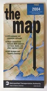 Mta Metro North Subway Map.Details About Vintage Original November 2004 New York Nyc Subway Map Mta Metro North Lirr