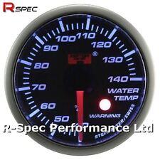 52mm Blue Stepper Motor Warning Water Temperature Temp Gauge With Warning Light