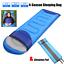 thumbnail 1 - Waterproof-Sleeping-Bag-Compact-Camping-Backpacking-Cold-Weather-w-Sleeping-Pad