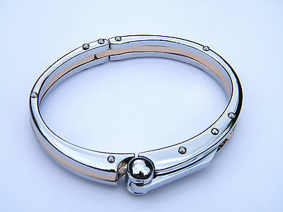 Fashion Jewelry Handcuff Stainless Steel 316l Wristband Men's Jewellery Bracelet Silver/gold Crazy Price Wristbands