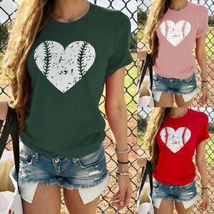 Fashion-Women-Ladies-Love-Heart-Print-Short-Sleeve-O-Neck-T-Shirt-Tops-Blouse