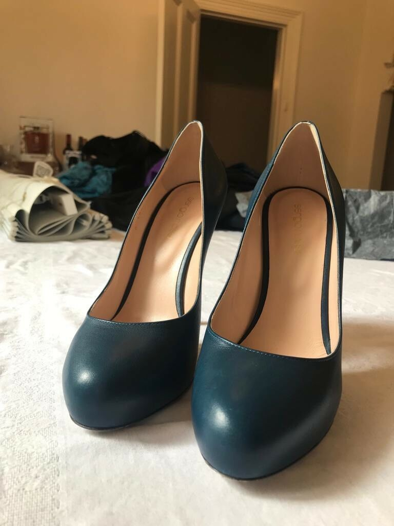 Sergio Rossi bluee Pumps Womens shoes Size EU38.5 BRAND NEW ITALIAN