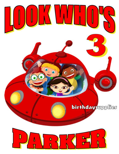 New Personalized Little Einsteins T Shirt Party Favor Birthday gift Add name age