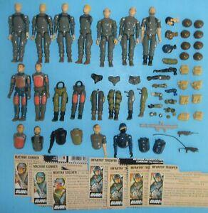 Lot-1982-GI-Joe-Cobra-Straight-Arm-v1-Figure-Body-Part-Piece-Repair-Accessories