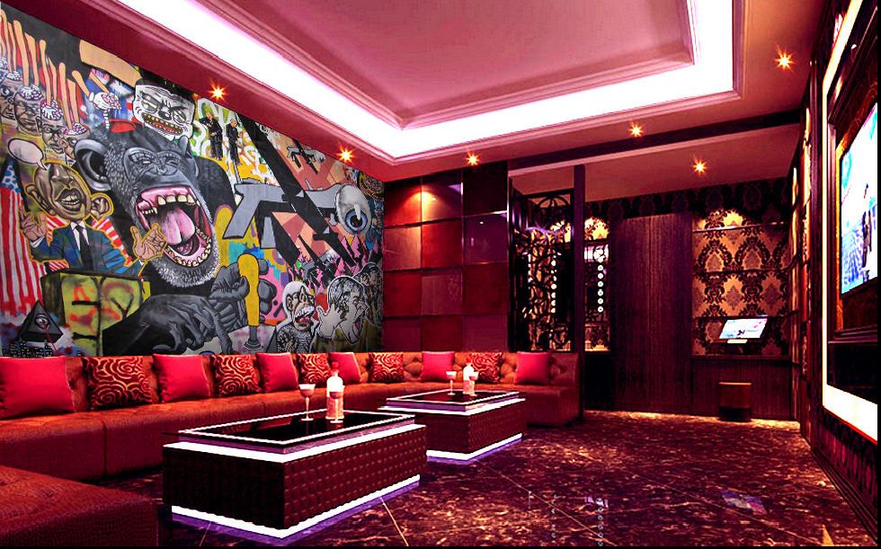 3D Gorillas Und Menschen 72   Tapete Wandgemälde Tapete Tapeten Bild Familie DE | Deutschland Outlet