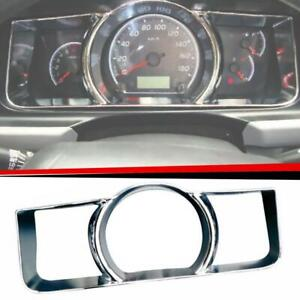 FOR TOYOTA HIACE COMMUTER 2005-2013 CHROME METTER DASH GAUGE COVER TRIM