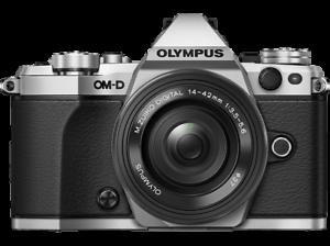 Cámara Evil -  OM-D E-M5 Mark II, Silver, 16.1 megapíxeles + M.Zuiko 14-42mm EZ