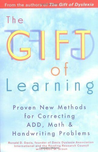 1 of 1 - Gift Of Learning: Proven New Methods for Correct... by Eldon M. Braun 0399528091